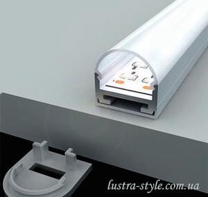 накладной профиль для светодиодной ленты киев | Люстра-Стиль