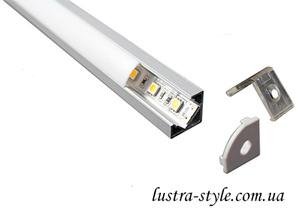 профиль угловой для светодиодной ленты в Люстра-Стиль